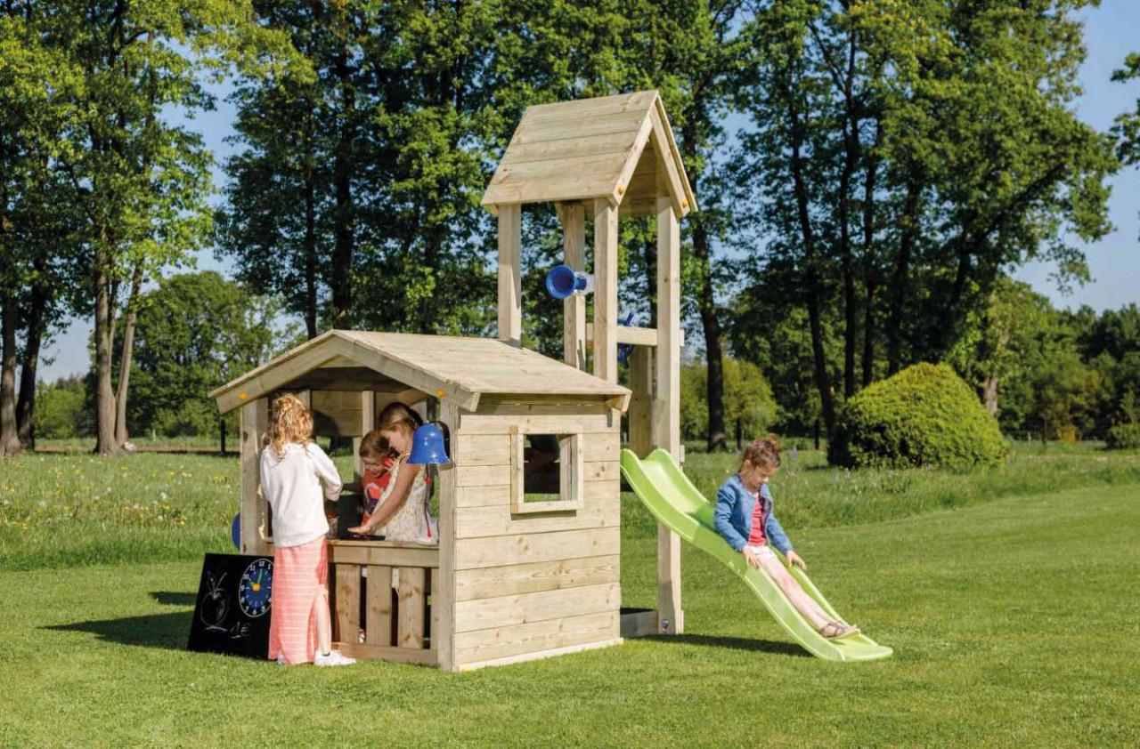 Full Size of Spielhaus Spielturm Lookout 90 Blue Rabbit Holz Heider Relaxsessel Garten Aldi Bewässerung Automatisch Vertikaler Schlafzimmer Komplett Massivholz Esstisch Garten Garten Spielhaus Holz