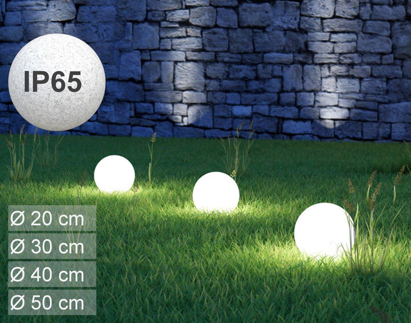 Full Size of Kugelleuchte Garten Leuchtkugel Globe Ip65 230v Aufbauleuchte In 4 Gren Ww Spielhaus Holz Lärmschutz Edelstahl Rattanmöbel Liegestuhl Ausziehtisch Garten Kugelleuchte Garten