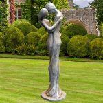 Skulpturen Garten Edle Skulptur Carissimi Mann Und Frau Truhenbank Ausziehtisch Stapelstuhl Zaun Gaskamin Klappstuhl Trennwände Spielgeräte Für Den Garten Skulpturen Garten