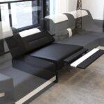 Sofa Relaxfunktion Sofa Sofa Schlaffunktion Halbrundes Rundes 2 Sitzer Mit Relaxfunktion Bora Kunstleder Weiß Muuto Rattan Garten Xora Grau