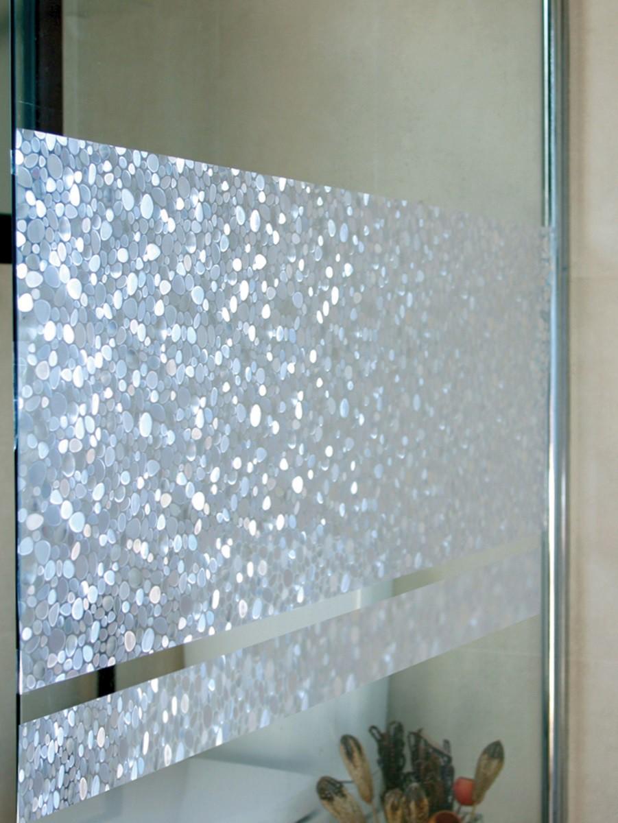 Full Size of Fenster Folie Fensterfolie Pebbles 46 Cm Hoch Statische Linea Fix Sicherheitsfolie Mit Rolladenkasten Klebefolie Für Insektenschutzgitter 120x120 Velux Kaufen Fenster Fenster Folie
