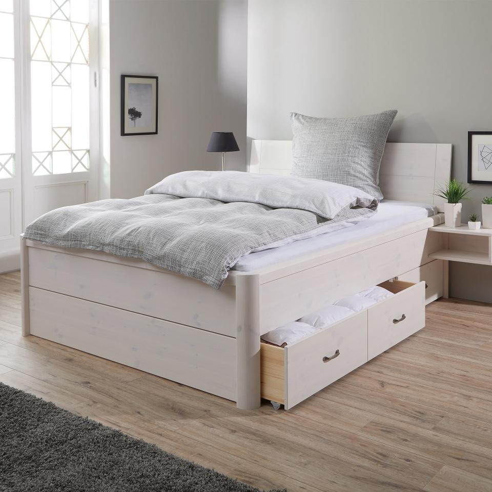 Full Size of Massiv Bett 180x200 Lyngby 200x200 Ebay Betten 120x200 Ausziehbares Boxspring Selber Bauen Massivholz Regal Clinique Even Better Mit Matratze Und Lattenrost Bett Massiv Bett 180x200