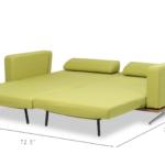 Mondo Sofa Modern Bed Spaze Furniture 2 Sitzer Mit Schlaffunktion Riess Ambiente Garnitur Teilig Bezug Ecksofa Ottomane Boxen Tom Tailor Groß Türkis Schillig Sofa Mondo Sofa