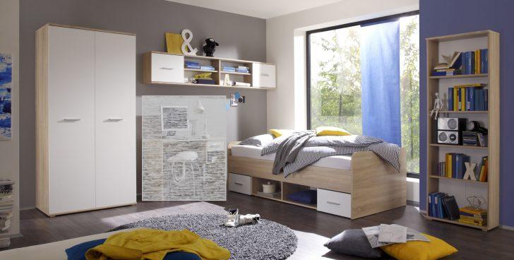 Medium Size of Jugendzimmer Bett Set Nanu 4tlg Komplett Schrank Regale Eiche Weißes Mit Lattenrost Wildeiche Komforthöhe 200x200 Weiß Gebrauchte Betten 180x200 Bett Jugendzimmer Bett