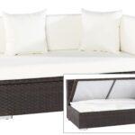 Polyrattan Sofa Couch Grau Lounge Ausziehbar Gartensofa 2 Sitzer Balkon Outdoor Set Outflex2 Ecksofa Braun 145x85x70 Links Gartenmoebelde Für Esstisch Sofa Polyrattan Sofa