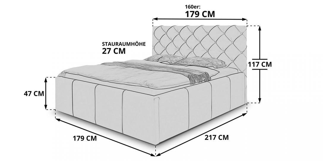 Large Size of Bett Mit Bettkasten Xxl Stauraum Polsterbett In Weiss Günstige Küche E Geräten Billige Betten Schlafzimmer Komplett Lattenrost Und Matratze Jensen 190x90 Bett Bett 140x200 Mit Bettkasten
