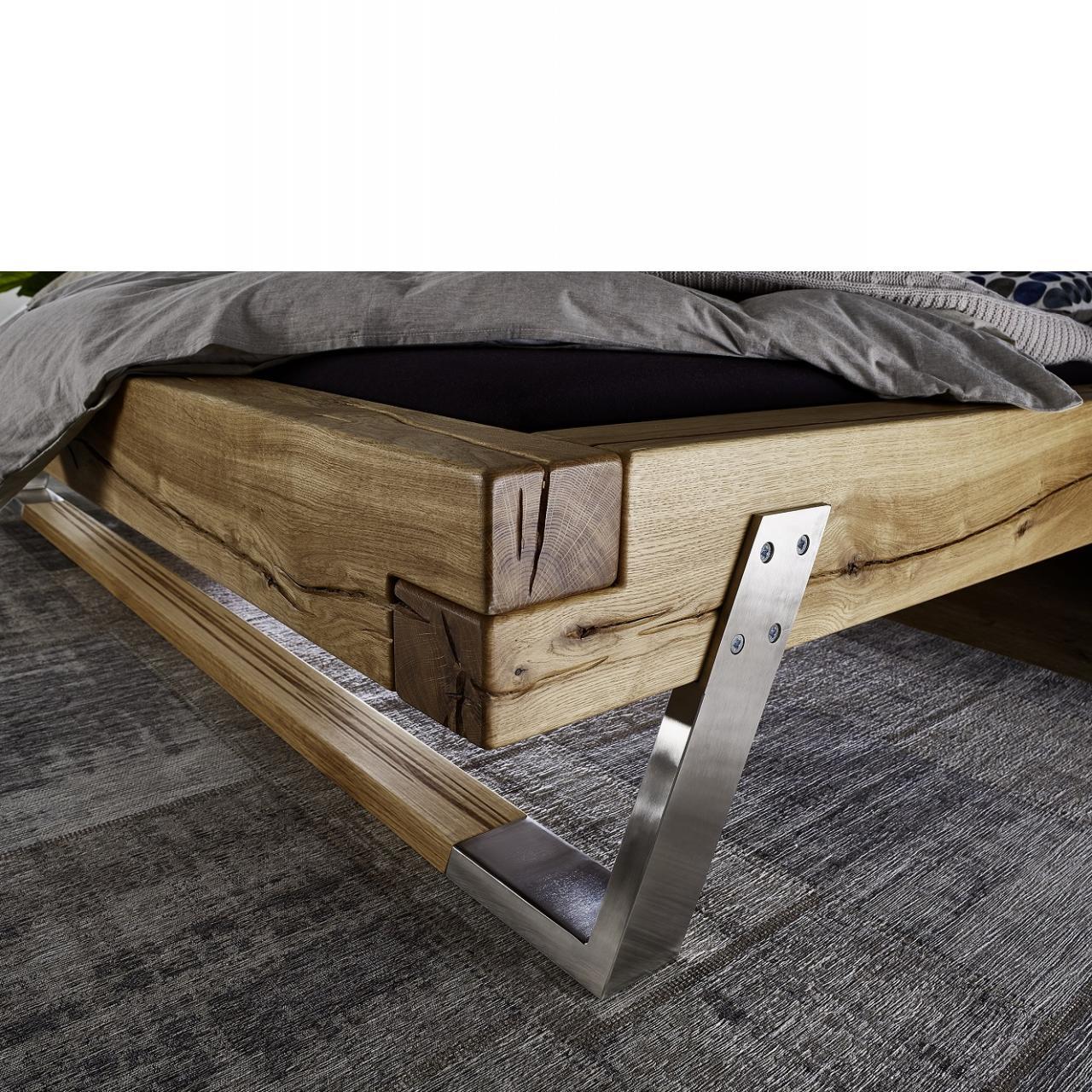 Full Size of Bett Massiv 180x200 Balkenbett Be 0278 Wildeiche Cm Mbel Jhnichen Weiß 140x200 Betten Kaufen Hamburg 90x190 Boxspring Landhausstil Mit Stauraum 90x200 Bett Bett Massiv 180x200