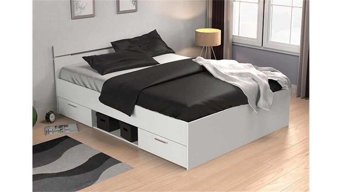 Large Size of Bett Michigan Perle Wei Mit Schubksten 140x200 Cm Unterbett Schlafzimmer Betten Ohne Füße Bock Sofa Bettkasten Joop Ausklappbares Großes Weiß 160x200 Bett Bett 1.40