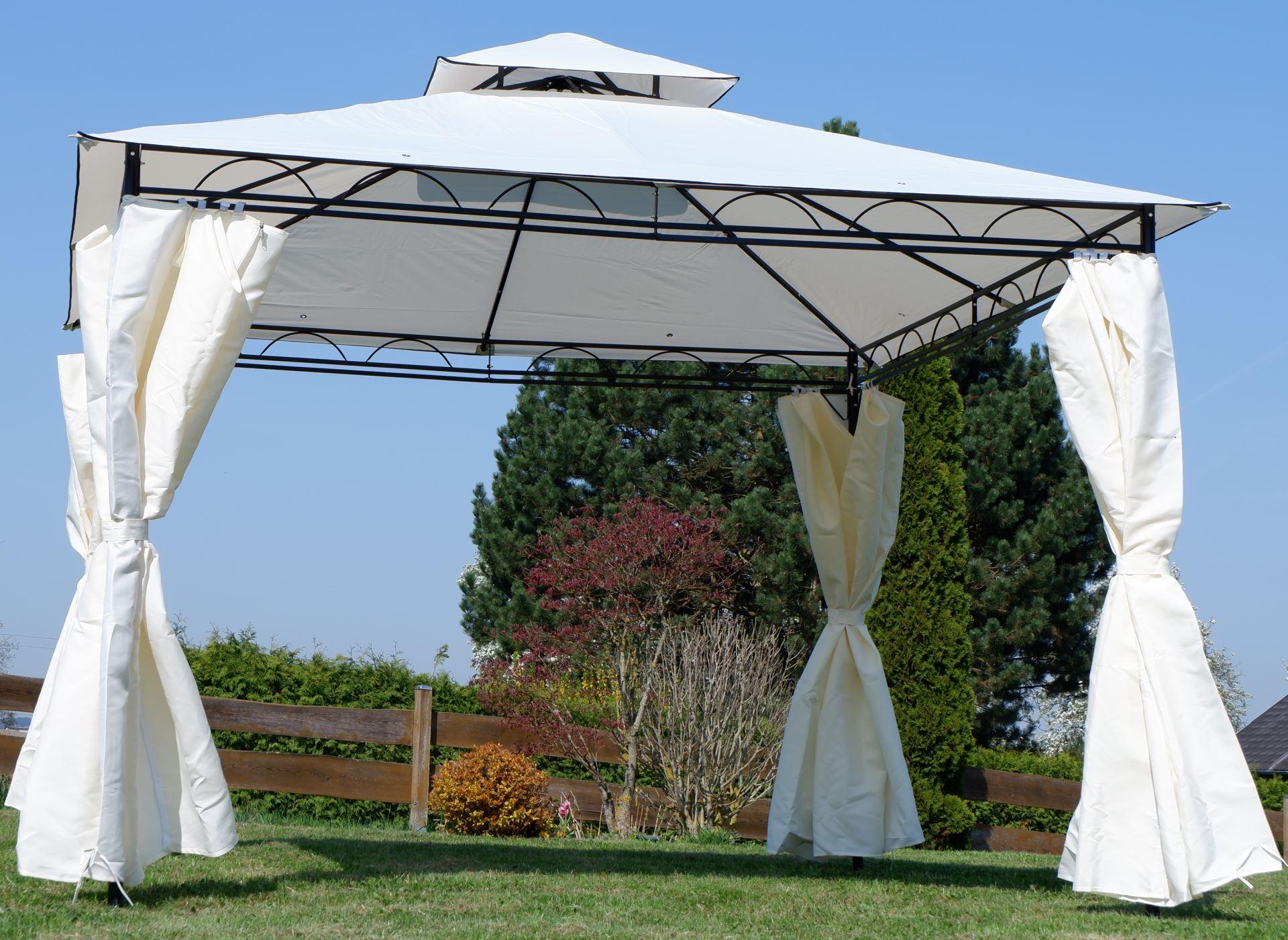 Full Size of Garten Pavillion Pavillon Holzdach Kaufen Gartenpavillon Aus Holz Metall Winterfest 3x3 Luxus Rund Glas Zelt Eleganter Meter Holzhaus Kind Wassertank Garten Garten Pavillion