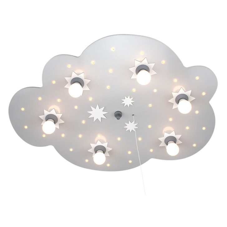 Medium Size of Led Schlummerlicht Sternenwolke Silber Weiss 6er Deckenlampe Wohnzimmer Deckenlampen Für Modern Regale Kinderzimmer Regal Bad Schlafzimmer Sofa Esstisch Kinderzimmer Deckenlampe Kinderzimmer