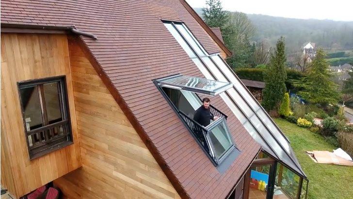 Medium Size of Mach Dein Dachfenster Zum Balkon Velucabrio Youtube Velux Fenster Kaufen Preise Dreifachverglasung Folie Holz Alu 3 Fach Verglasung Landhaus Hannover Für Fenster Velux Fenster