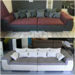 Neu Xxl Big Sofa Couch Garnitur Wohnlandschaft Polsterreiniger Kolonialstil Grün Schilling Goodlife Verkaufen Großes Schlaffunktion Breit Chesterfield Kissen Sofa Big Sofa Xxl