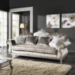 Luxus Sofa Sofa Luxus Sofa Couch Im Klassischen Stil 3 Sitzer Aus Stoff Liberty Mit Schlaffunktion Federkern Polster Reinigen Wohnlandschaft Baxter Poco Big Büffelleder