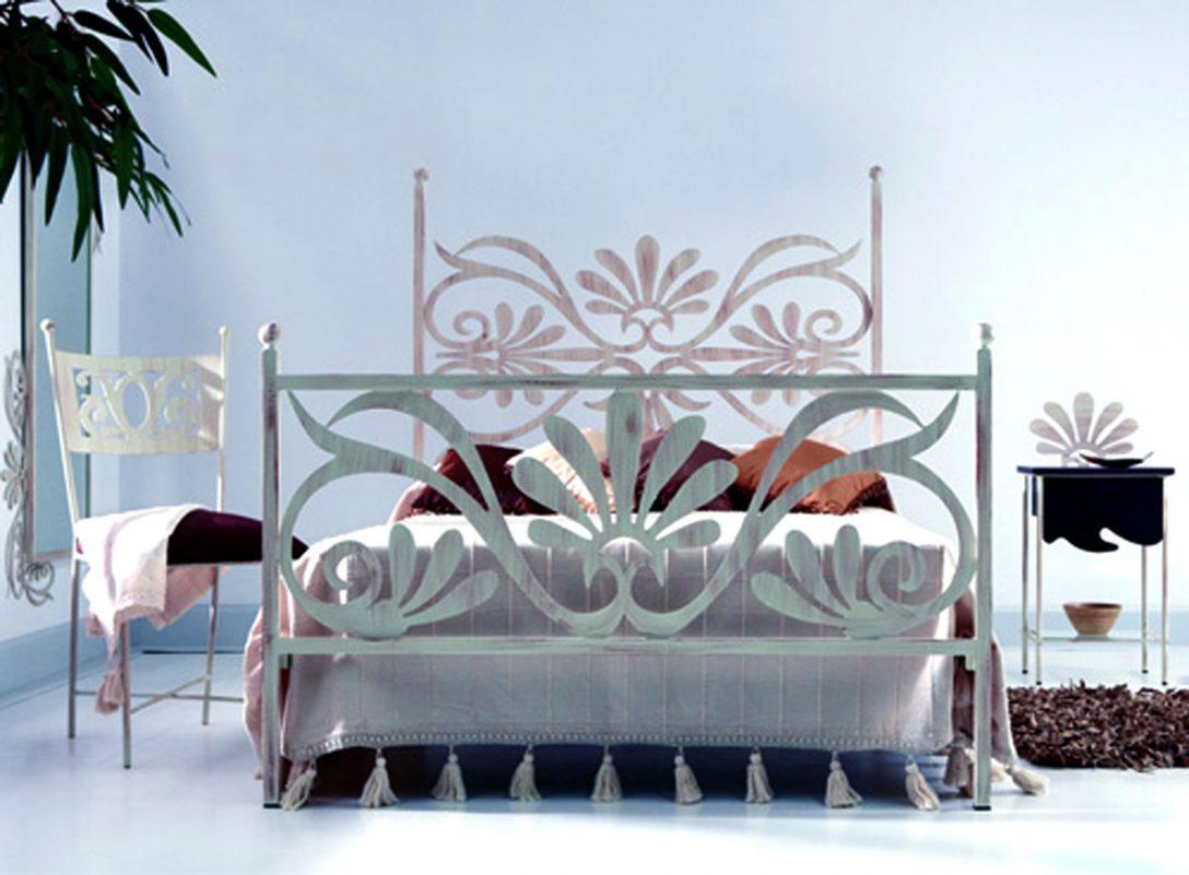 Large Size of Modernes Bett Metallbett Lidia Dekoration Beltrn Selber Bauen 140x200 Betten Hamburg Landhaus 2x2m Hasena 120 X 200 Mit Stauraum Rustikales Rückenlehne Bett Modernes Bett