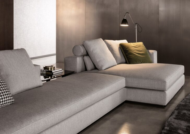 Minotti Sofa Outlet Freeman Alexander Preise Couch For Sale List Seating System Range Cad Block India Size Sleeper Uk Modulares Zum Entspannen Donovan Leinen Sofa Minotti Sofa