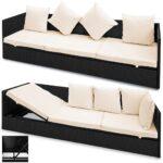 Lounge Sofa Polyrattan Outdoor Grau Couch Ausziehbar Casaria Poly Rattan 2in1 Gartenliege 5 Fach Real U Form Garnitur 2 Teilig Für Esstisch Billig 3er Sofa Polyrattan Sofa