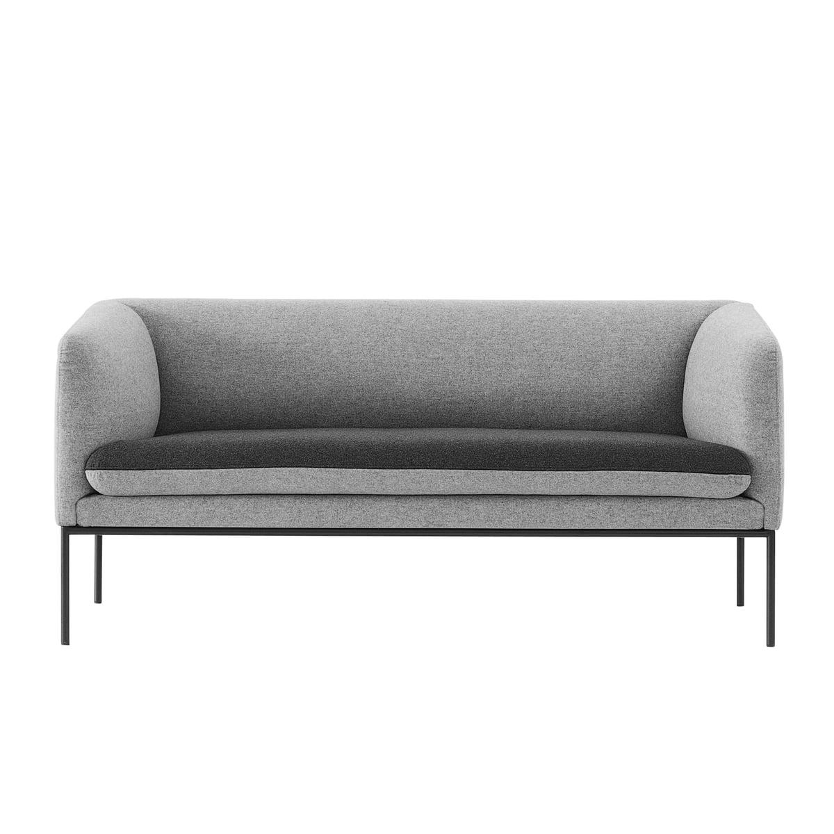 Full Size of Turn Sofa 2 Sitzer Von Ferm Living Connox Bezug Ecksofa Leder Langes Stilecht Kolonialstil Blau Ikea Mit Schlaffunktion Elektrischer Sitztiefenverstellung Gelb Sofa 2er Sofa