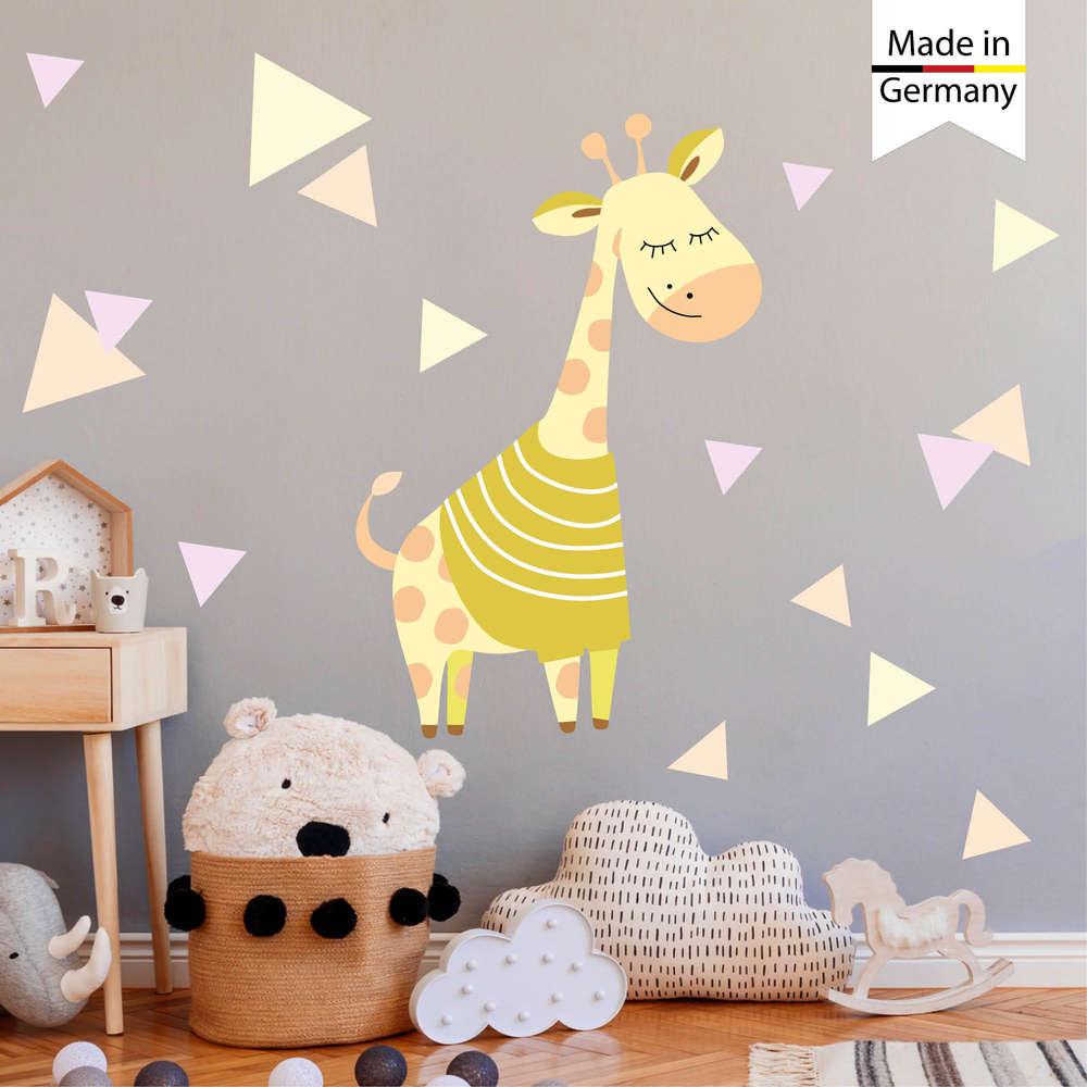Full Size of Bilder Kinderzimmer Wandtattoo Giraffe Dekoration Wandsticker Moderne Fürs Wohnzimmer Regal Regale Modern Wandbilder Schlafzimmer Glasbilder Küche Xxl Weiß Kinderzimmer Bilder Kinderzimmer