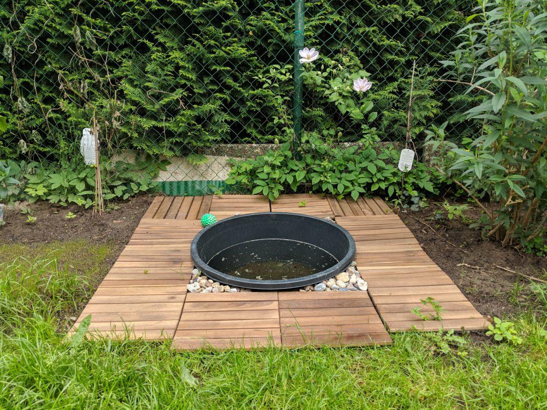 Large Size of Mini Pool Garten Einen Kleinen Hundepool Im Selbst Bauen Anlegen Zeitschrift Sitzgruppe Kandelaber Mein Schöner Abo Loungemöbel Holz Whirlpool Aufblasbar Garten Mini Pool Garten