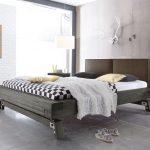 Graues Bett Massivholz Z B In Grau Aus Akazie Salo Bettende Betten überlänge Kopfteile Für Balken Weißes 160x200 Kopfteil Selber Bauen Mit Rutsche Komplett Bett Graues Bett