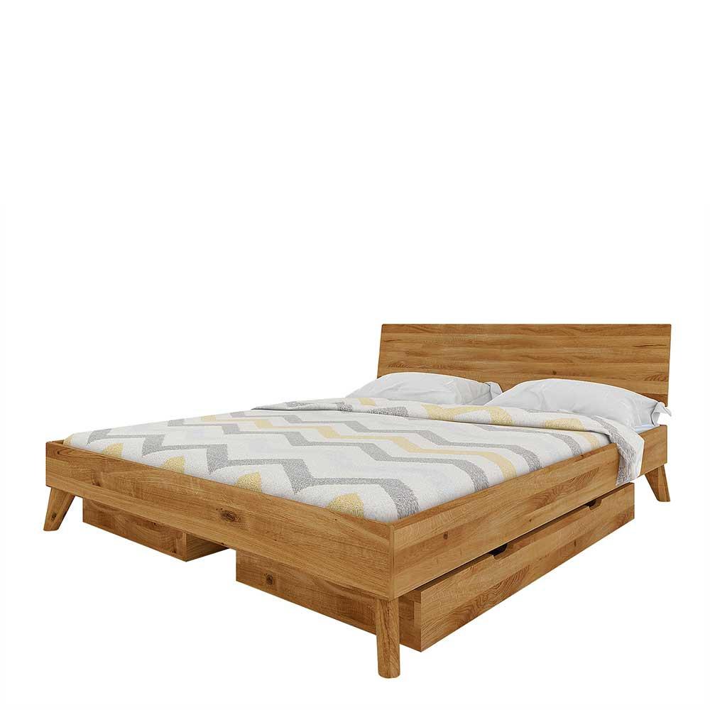 Full Size of Wildeiche Bett Massives Mit Schubladen Als Doppelbett 220cm Massivholz Betten Rückenlehne Eiche Sonoma Jugendzimmer 140x200 Bettkasten 180x200 Weiß Bett Wildeiche Bett