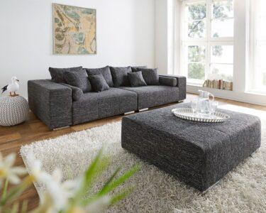 Big Sofa Mit Hocker Sofa Big Sofa Mit Hocker Marbeya 280x115 Cm Schwarz Couch Schwarze Schreibtisch Regal Groß Stoff Grau Ligne Roset Bett 200x200 Bettkasten Boxspring Schlaffunktion