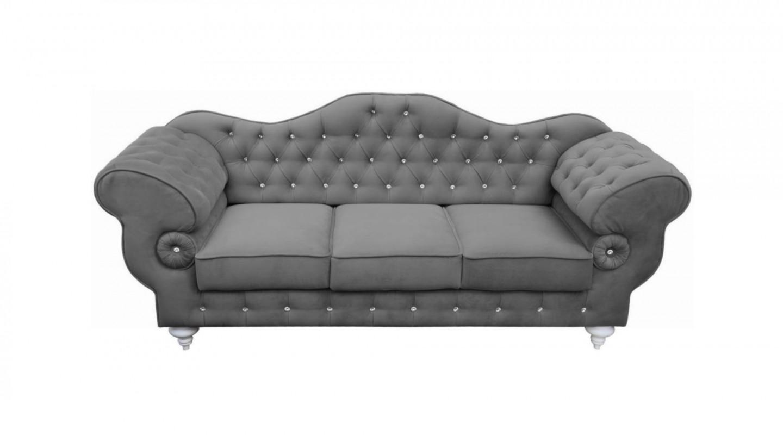 Full Size of Sofa 3 Sitzer Grau Mit Schlaffunktion Leder Rattan Couch Retro Kingsley 3 Sitzer Ikea 2 Und Samt Louisiana (3 Sitzer Polster Grau) Nino Schwarz/grau 00797 Ston Sofa Sofa 3 Sitzer Grau