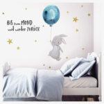 Wandaufkleber Kinderzimmer Kinderzimmer Wandaufkleber Kinderzimmer Wandtattoo Mond Sterne Traumhaus Regal Weiß Sofa Regale