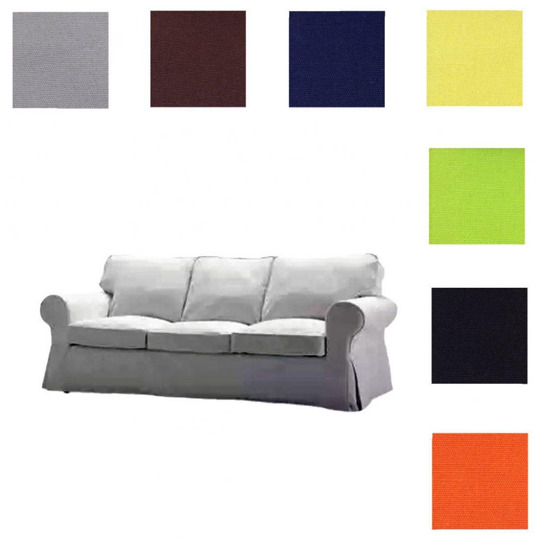 Large Size of Fits Ikea Ektorp Three Seat Sofa Cover Furniture Replace Slipcover 3 2 1 Sitzer Chesterfield Günstig Antikes Inhofer Big Grau Halbrundes Garnitur Teilig Sofa Ektorp Sofa