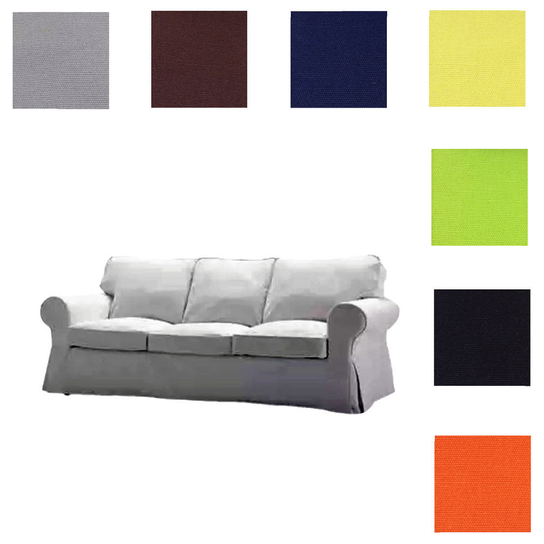 Full Size of Fits Ikea Ektorp Three Seat Sofa Cover Furniture Replace Slipcover 3 2 1 Sitzer Chesterfield Günstig Antikes Inhofer Big Grau Halbrundes Garnitur Teilig Sofa Ektorp Sofa