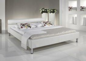 Bett Schwarz Weiß
