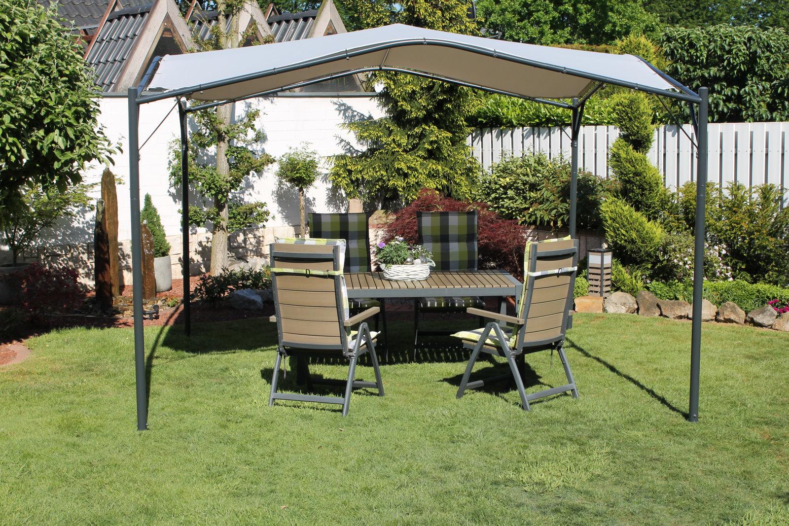 Full Size of Gartenüberdachung Leco Pavillon 350x350cm Terrassen Garten Berdachung Sonnenschutz Garten Gartenüberdachung