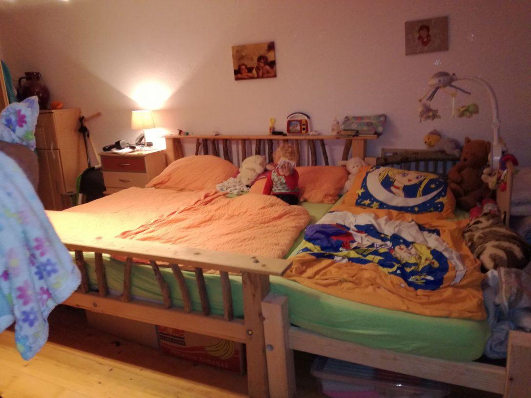 Large Size of Selbstversorger Enthusiast Endlich Ein Grosses Bett Großes Antik Eiche Schlafzimmer Betten Jensen Hunde Lifetime Mädchen Massivholz Grau Leander Nussbaum Bett Großes Bett