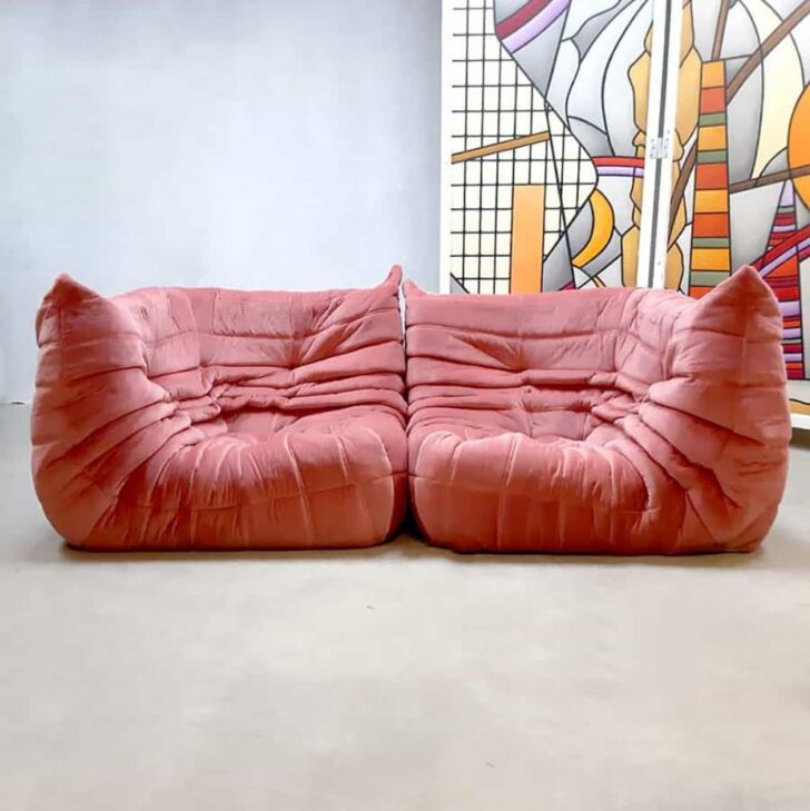 Medium Size of Togo Sofa Ebay Uk Gebraucht Kaufen Ligne Roset Dimensions Replica Vintage For Sale List Australia Copy Preis Reproduction Melbourne Design Pink Velvet Corner Sofa Togo Sofa
