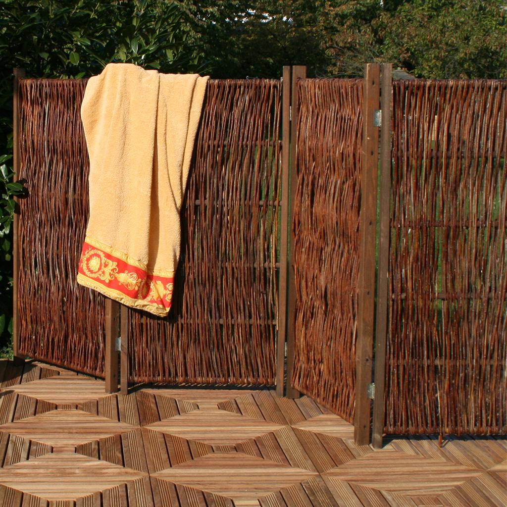 Full Size of Garten Paravent Ikea Polyrattan Metall Selber Bauen Bauhaus Bambus Wetterfest Hornbach Holz Holzundgartende Lärmschutz Skulpturen Kletterturm Bewässerung Garten Garten Paravent