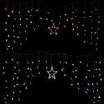 Weihnachtsbeleuchtung Fenster Led Lichtervorhang Lichterkette Deko Sterne Licht Braun Insektenschutz Für Türen Velux Ersatzteile Putzen Veka Fenster Weihnachtsbeleuchtung Fenster