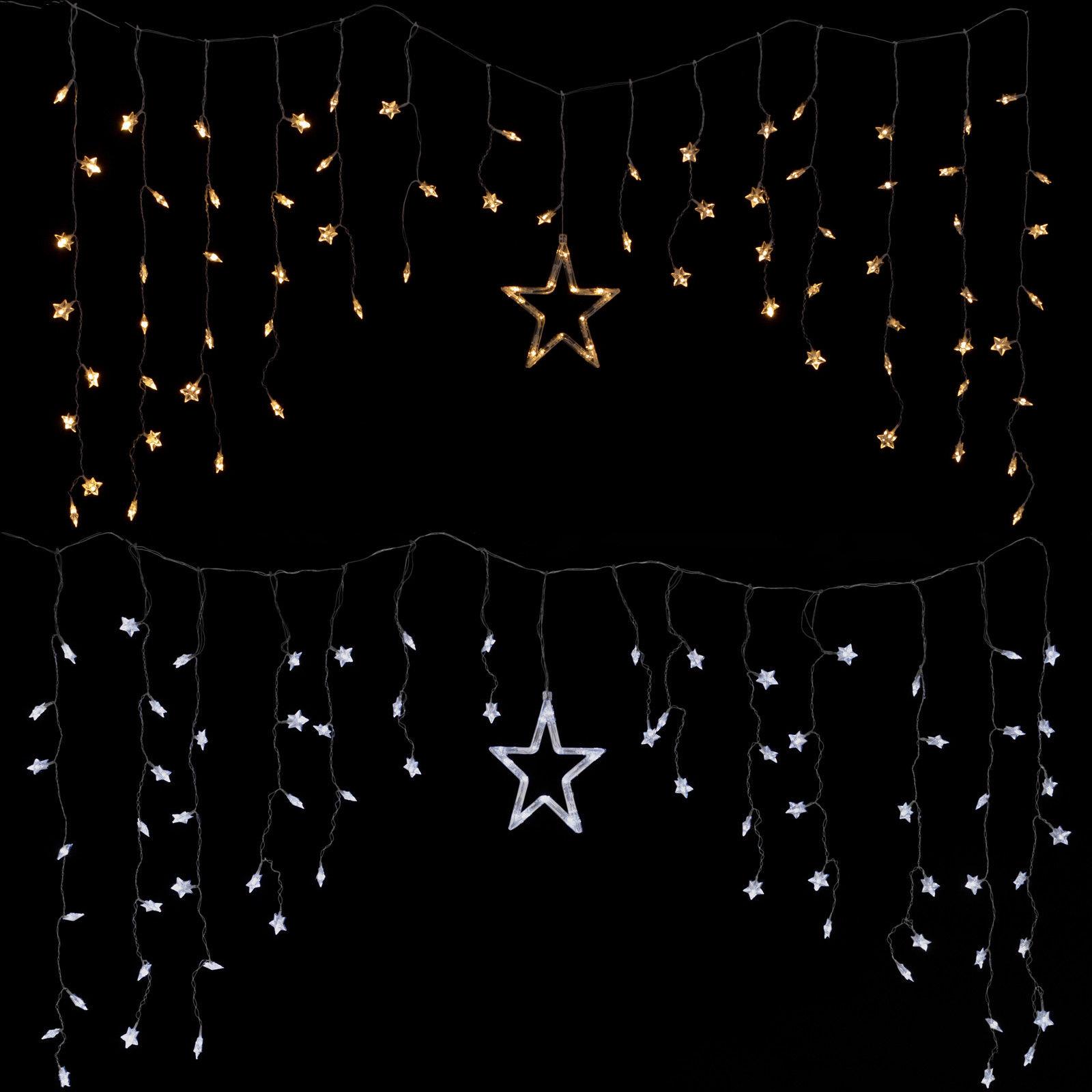 Full Size of Weihnachtsbeleuchtung Fenster Led Lichtervorhang Lichterkette Deko Sterne Licht Braun Insektenschutz Für Türen Velux Ersatzteile Putzen Veka Fenster Weihnachtsbeleuchtung Fenster