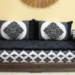 Halbrundes Sofa Schwarz Halbrunde Couch Klein Samt Ebay Gebraucht Rot Ikea Im Klassischen Stil Big Marokkanische Ecke Wei Mit Holzgestell Hocker Kare Garten Sofa Halbrundes Sofa