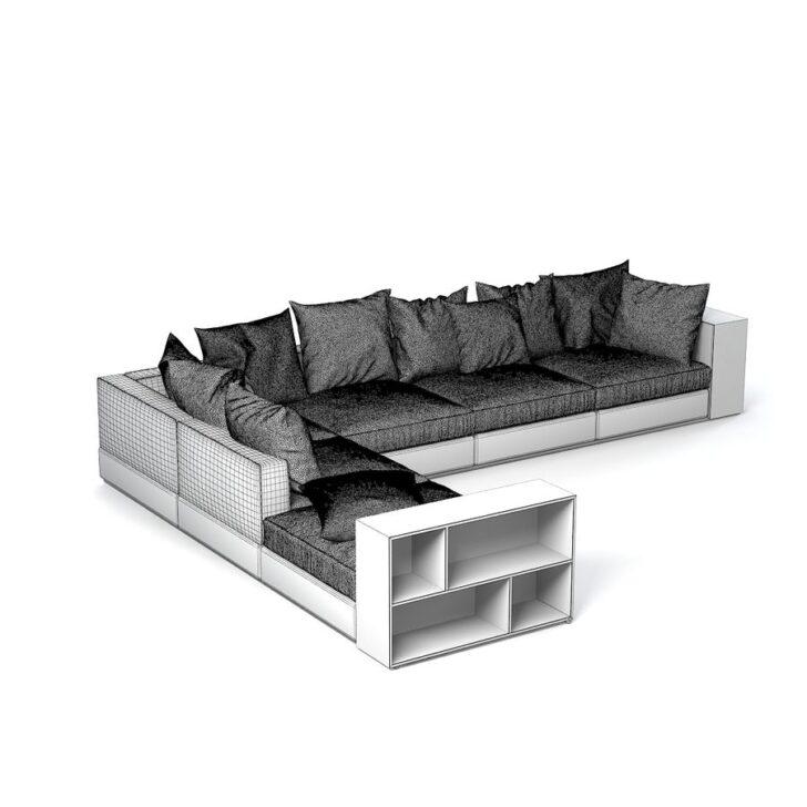 Medium Size of Flexform Sofa Groundpiece 3d Modell 39 Maobj Schlafsofa Liegefläche 160x200 Muuto Home Affaire Heimkino Minotti Garnitur 3 Teilig Kunstleder Weiß Beziehen Sofa Flexform Sofa