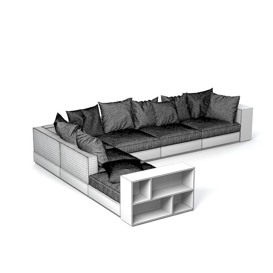 Full Size of Flexform Sofa Groundpiece 3d Modell 39 Maobj Schlafsofa Liegefläche 160x200 Muuto Home Affaire Heimkino Minotti Garnitur 3 Teilig Kunstleder Weiß Beziehen Sofa Flexform Sofa