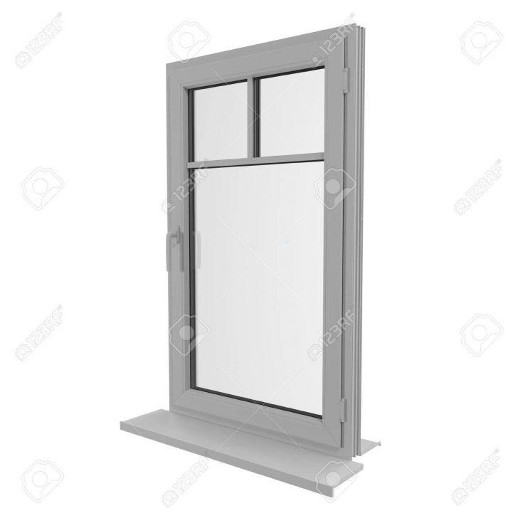 Medium Size of Kunststoff Fenster Eine Tr 3d Darstellung Lizenzfreie Fotos Polnische Tauschen 120x120 Jemako Insektenschutzgitter Abdichten Drutex Mit Eingebauten Schüko Fenster Kunststoff Fenster