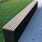 Sitzbank Garten Design Metallmoebel Stahlmoebel Sideboard Stahl Holz Eiche Vertikal Loungemöbel Wassertank Trennwand Günstig Und Landschaftsbau Hamburg Garten Sitzbank Garten