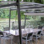 Gartenüberdachung Garten Gartenüberdachung Freistehende Pergola Mit Transparentem Dach Sakura
