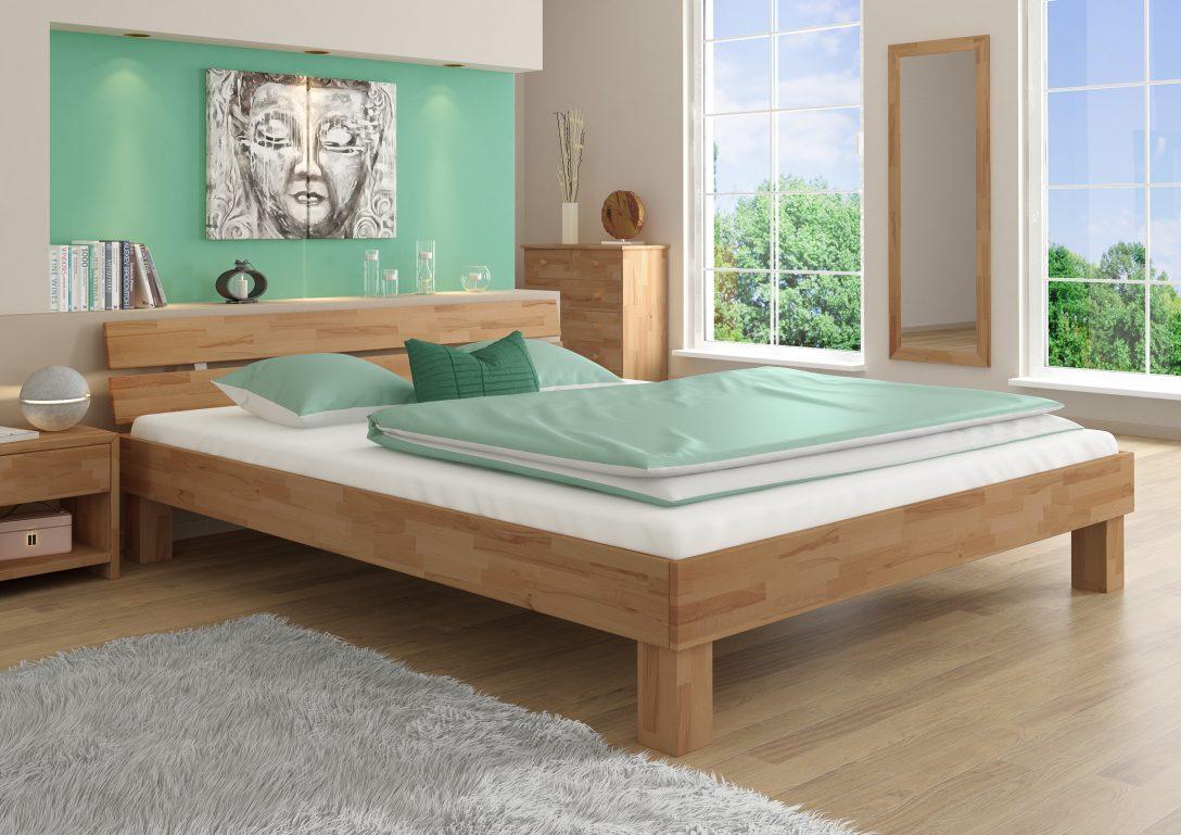 Bett 180x200 Buche Massiv Gelt Doppelbett Lattenrost Matratzen Trends Betten überlänge 190x90 120x200 Breit Musterring Mit Beleuchtung Bettkasten 90x200
