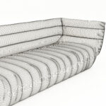 Baxter Moon Sofa Furniture Chester Viktor Sale Italy List Paola Navone Ez Living Tactile Criteria Collection Couch Casablanca 3d Model Download Weiß Grau Sofa Baxter Sofa