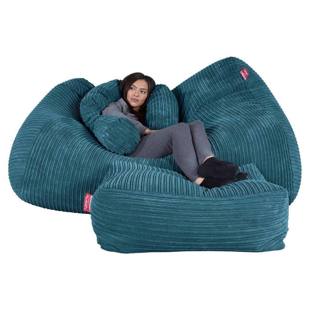 Full Size of Sitzsack Sofa Riesen Couch Cord Trkis In 2020 Garnitur 3 Teilig Goodlife Stilecht Samt Vitra Ewald Schillig Le Corbusier Dauerschläfer Rolf Benz Rahaus Sofa Sitzsack Sofa