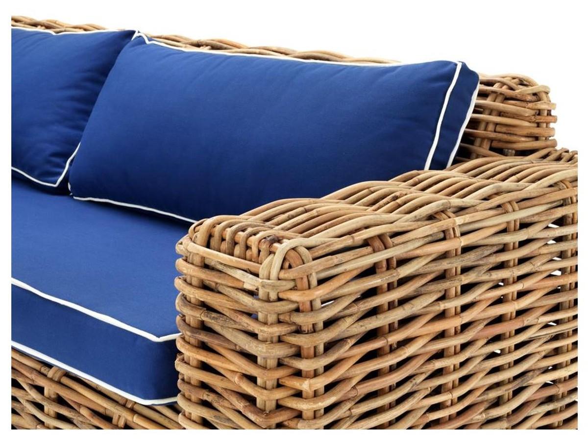 Full Size of Rattan Sofa For Sale Davao Bed Round Set Argos Corner Cover Aldi Outdoor Uk Cushions With Canopy Sets Casa Padrino Designer 230 88 H 69 Cm Luxury Kaufen Sofa Rattan Sofa