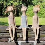 Garten Skulpturen Garten 3 Gartenskulpturen Kantenhocker Mdchen Online Bestellen Zeit Holzhaus Kind Garten Relaxsessel Jacuzzi Spielanlage Sitzbank Pool Guenstig Kaufen Loungemöbel