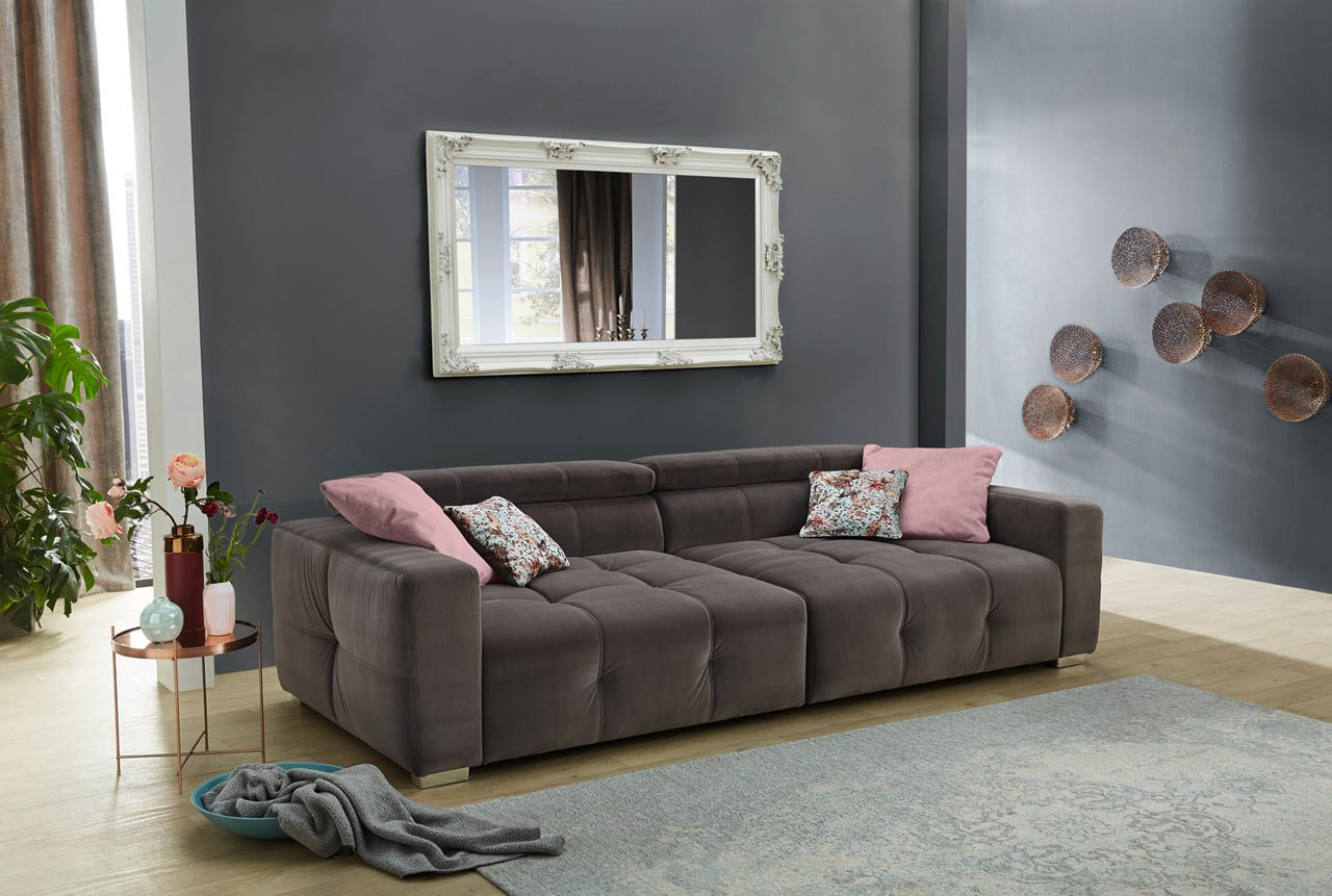 Full Size of Lifestyle4living Big Sofa Sitzsack Antikes Wk Ebay 2 5 Sitzer Breit Leder Baxter Mit Abnehmbaren Bezug Hussen Vitra Elektrischer Sitztiefenverstellung Sofa Mega Sofa