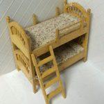 Betten Aus Holz 112 Skala Puppenhaus Miniatur Mbel Doppel Deck Mit Esstisch Massivholz Ausziehbar Küche Landhaus Schlafzimmer Komplett München Tagesdecken Bett Betten Aus Holz